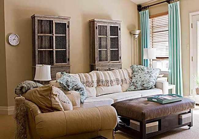 como decorar espacios pequeños estilo rustico