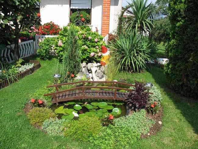como organizar un jardin interior