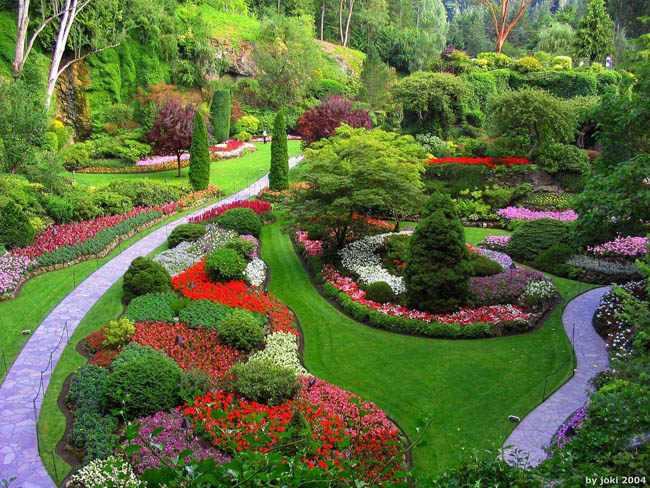 como planear un jardin