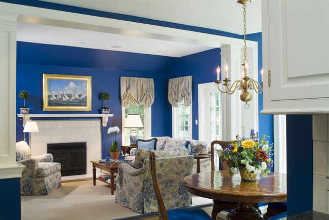 Consejos para pintar un salon - Colores relajantes para salones ...