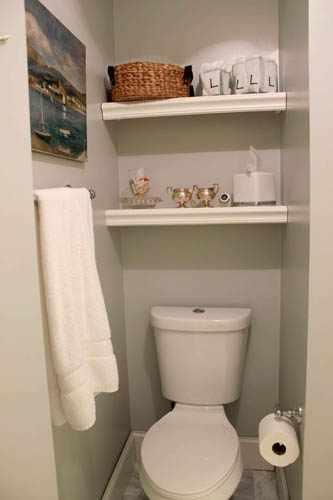 trucos para decorar un cuarto de baño pequeño - Decoracion Bano De Visitas Pequeno
