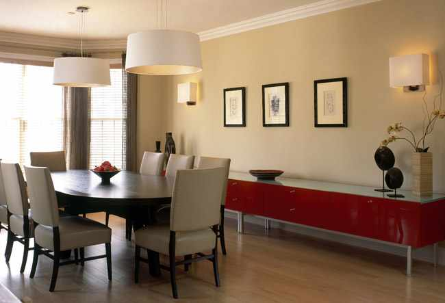 Consejos para decorar el comedor segun feng shui for Colores para living comedor