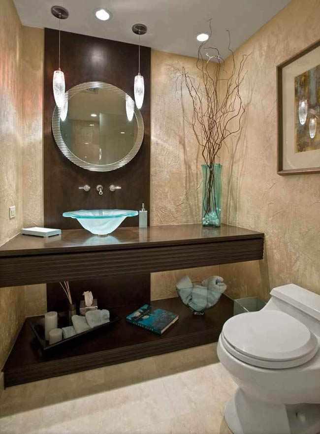 Trucos para decorar un cuarto de ba o peque o - Como decorar un bano pequeno moderno ...