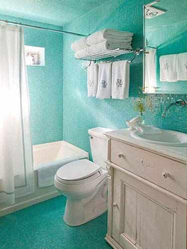 Decorar Un Baño Con Poco Dinero:Trucos para decorar un cuarto de baño pequeño