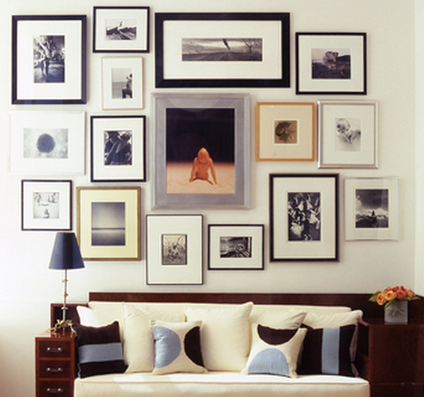 Consejos para decorar con cuadros - Cuadros originales para salon ...