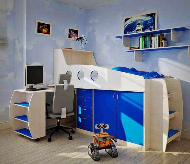 decorar habitacion infantil con papel pintado