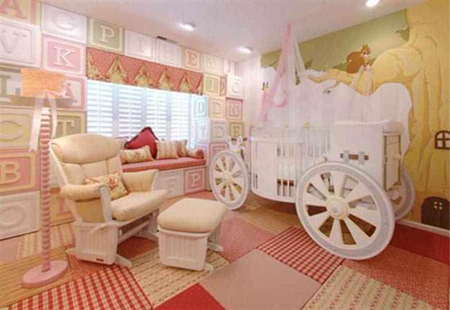 decorar habitacion infantil nia