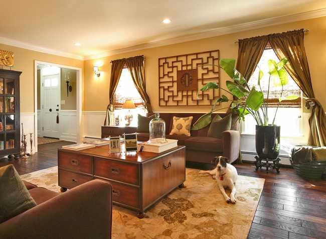 decorar piso estilo oriental
