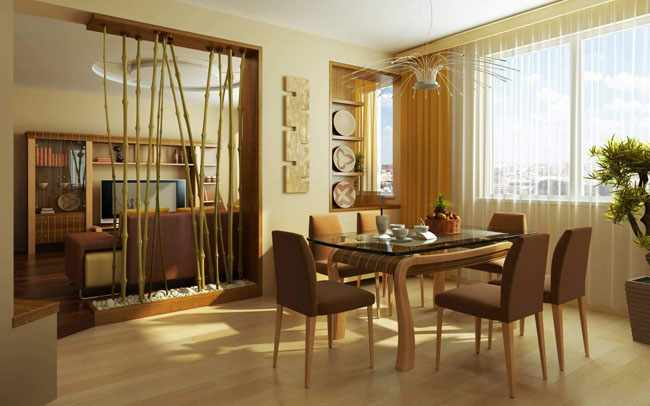 decorar salon comedor feng shui