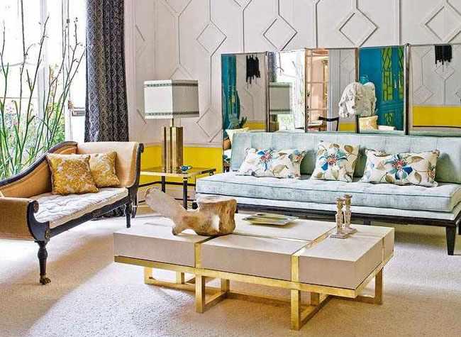 estilo eclectico interiores