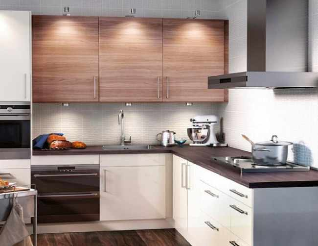 ideas para decorar cocina pequea - Cocinas Cuadradas