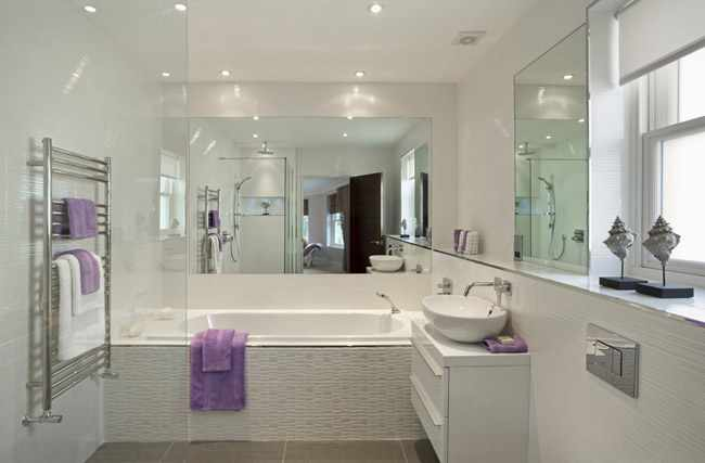 iluminacion de cuarto de baño