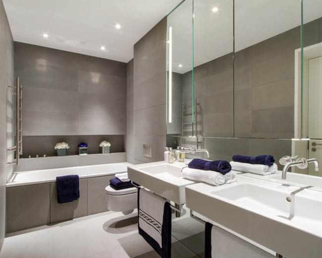 Iluminacion Baño Led:Iluminacion espejo cuarto de baño