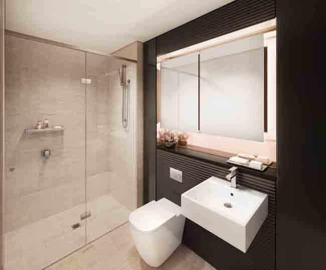 Iluminar Baño Oscuro:Como iluminar un cuarto de baño