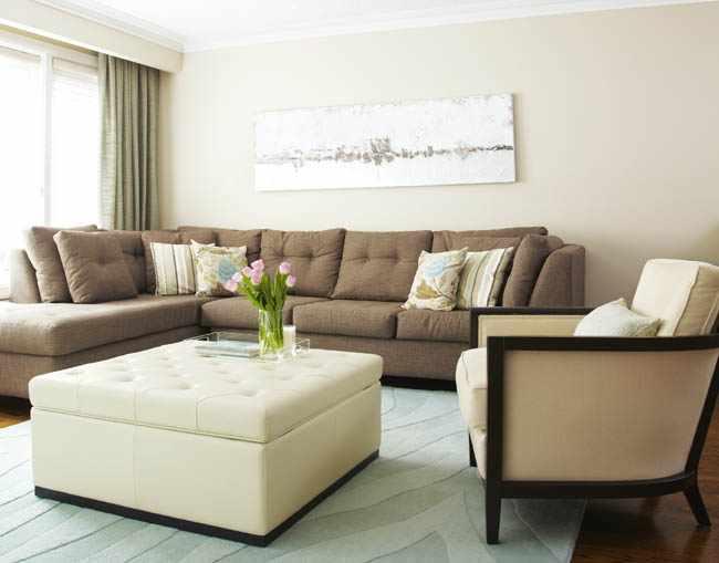 colores del feng shui para la sala de estar