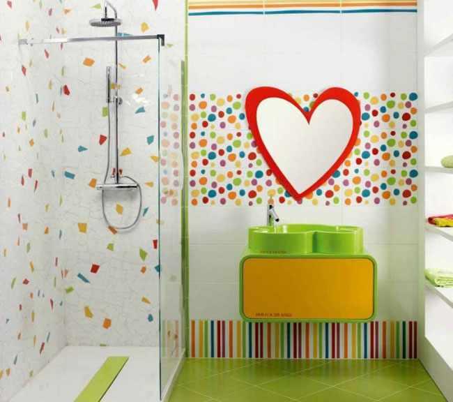 como decorar el baño de niños