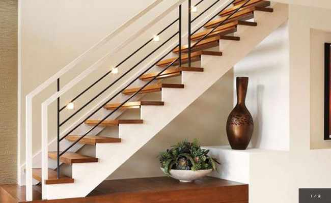Como decorar las escaleras - Como decorar una escalera interior ...