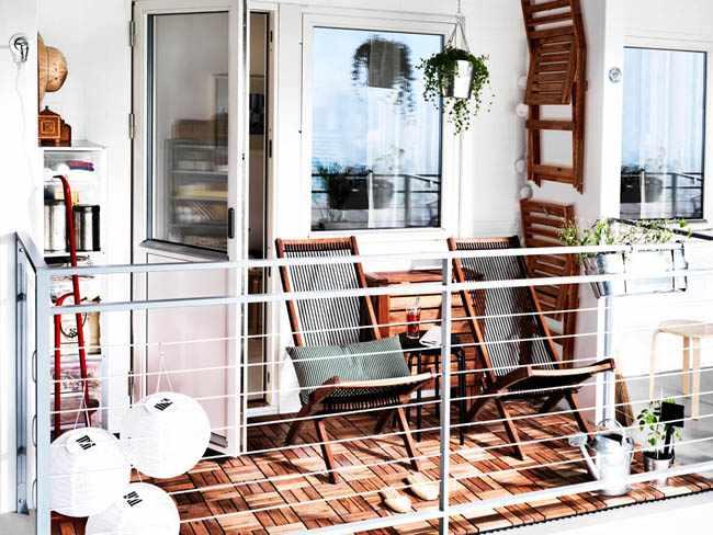 como decorar mi balcon pequeño