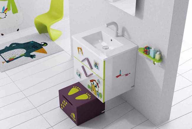 decorar baño para niños