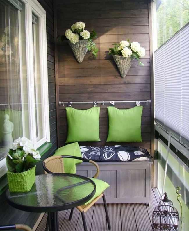 Como decorar un balcon peque o y aprovechar el espacio - Como decorar un bar pequeno ...