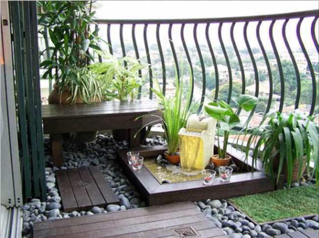 decorar un balcon pequeño con plantas