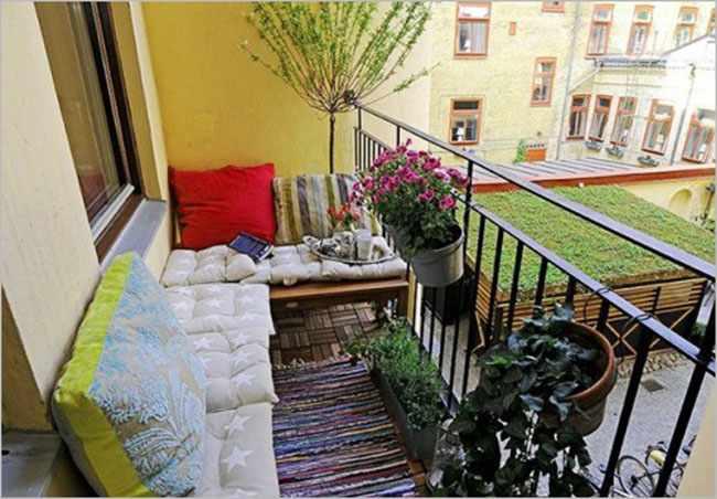 ideas para aprovechar un balcon