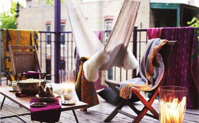 ideas para decorar balcon pequeño