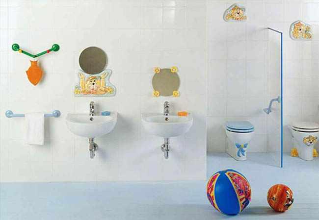 ideas para decorar un baño para niños