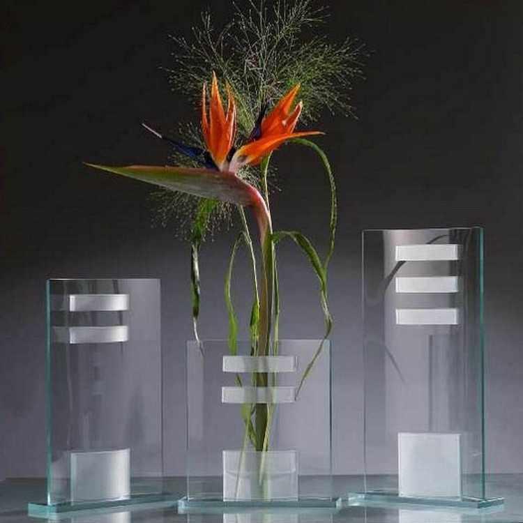 decoracion de jarrones de vidrio