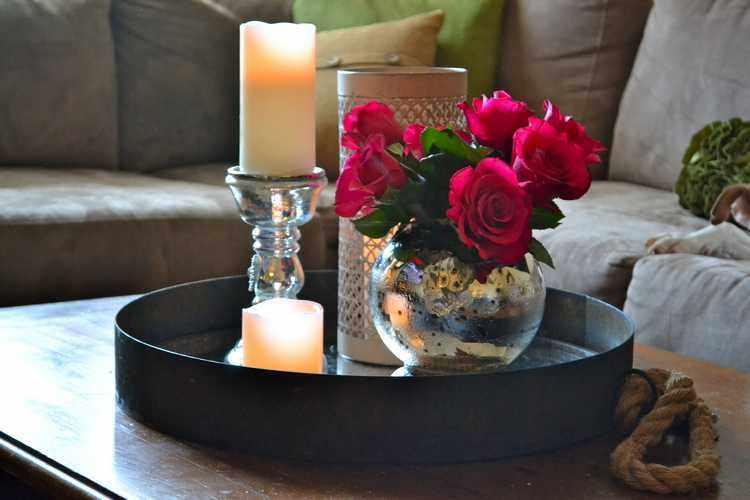 Como decorar un florero de vidrio ideas de jarrones - Jarrones de cristal decorados ...