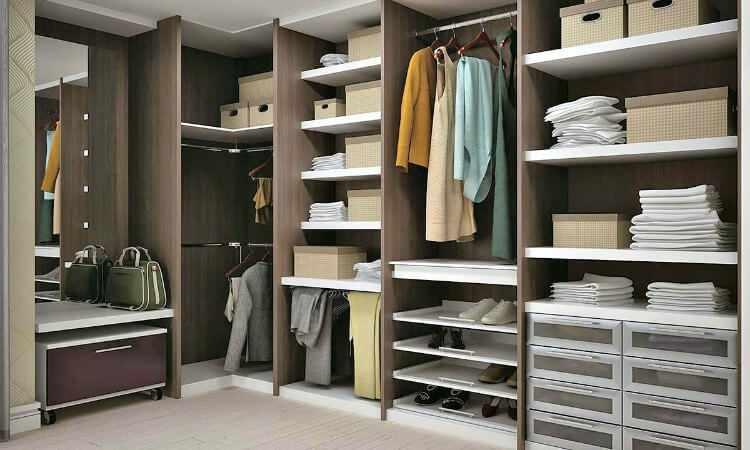 Como hacer un vestidor moderno y peque o mundodecoracion for Banos modernos con walking closet