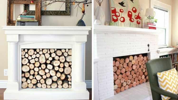 Como decorar una chimenea - Chimeneas decoradas ...