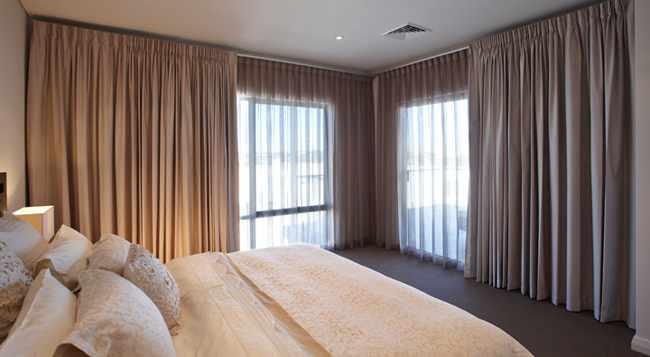 Cortinas para dormitorio de matrimonio imagui for Cortinas dormitorio moderno