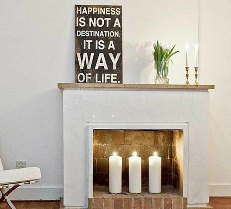 Como decorar una chimenea 15 ideas atractivas navidad for Decoracion para chimeneas modernas