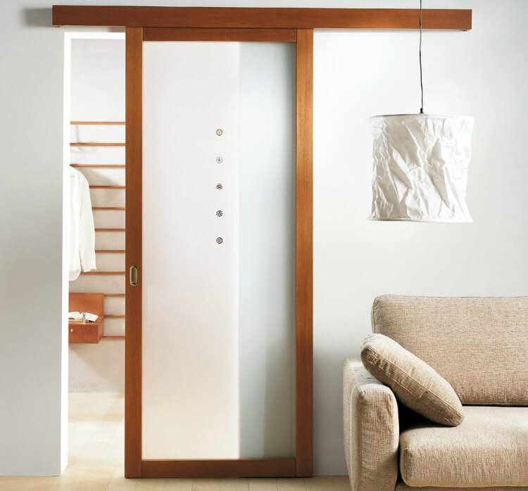 Cristal puerta salon latest puertas lisas con rayados - Puertas de vidrio correderas ...
