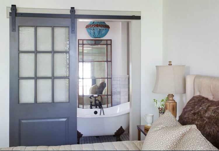 Puertas correderas sin obras cristal madera tutorial - Puertas correderas para cocinas ...