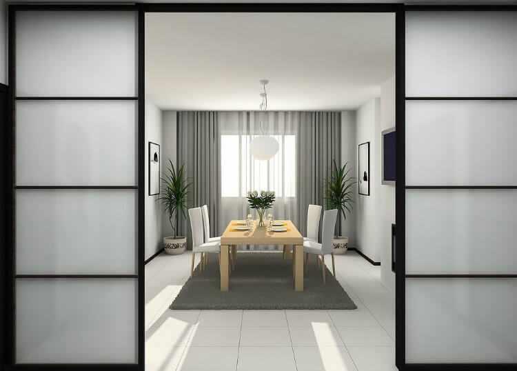 Puertas correderas sin obras cristal madera tutorial - Puertas de interior baratas ikea ...