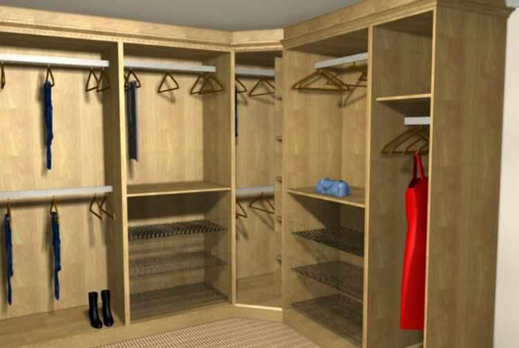 Como hacer un vestidor moderno y pequeño | MundoDecoracion.info