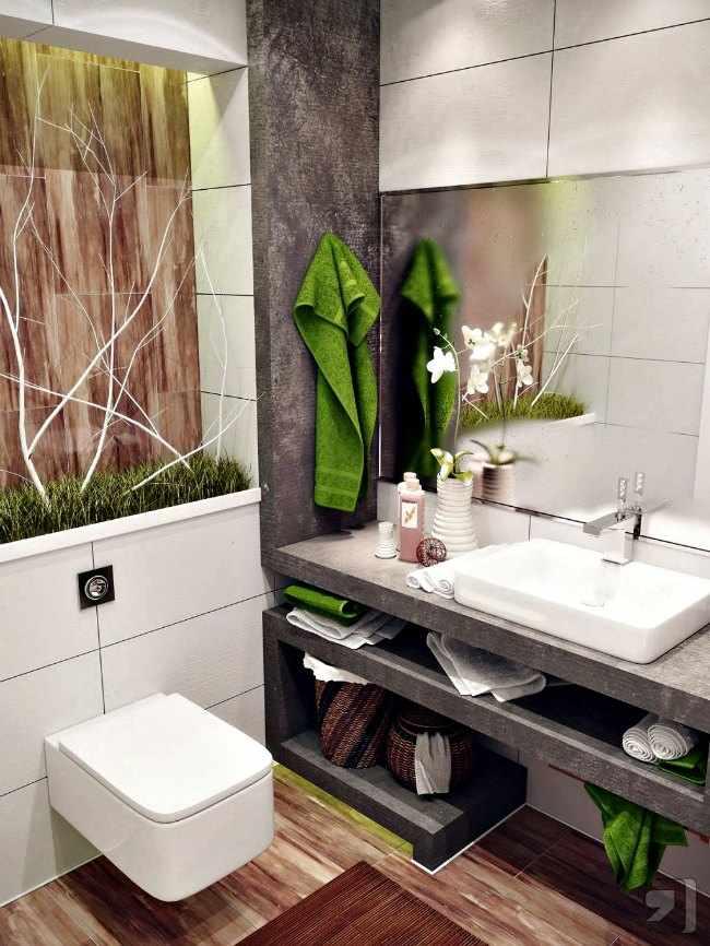 Ideas para cuartos de ba o peque os for Ideas para cuartos de bano pequenos