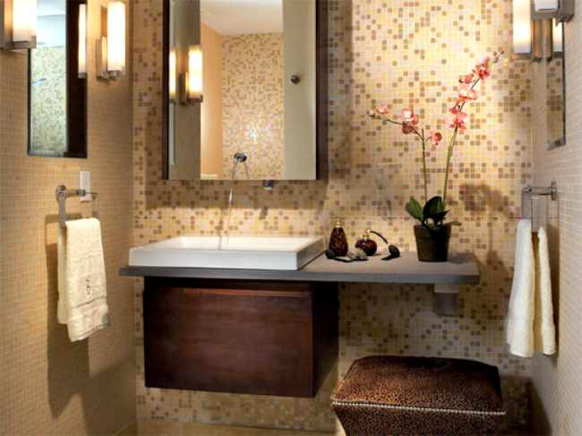 Ideas para cuartos de baño pequeños - Decoracion - Moderno y Funcional