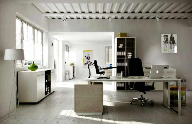 Decoracion despachos en casa modernos - Despachos grandes ...