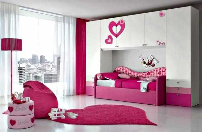 Decoracion de interiores habitaciones juveniles for Decoracion cuarto nina