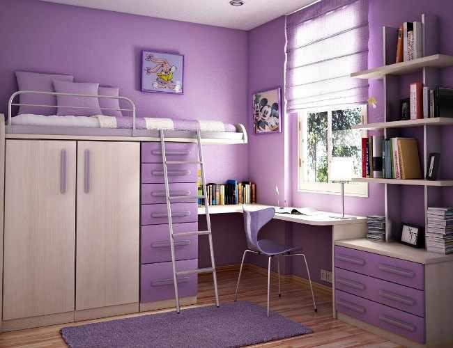 Decoracion de interiores habitaciones juveniles