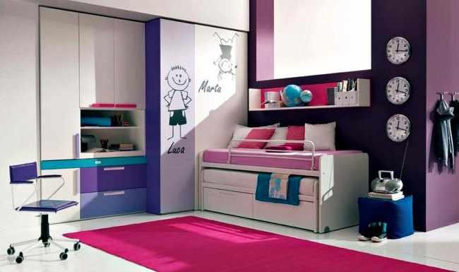 Decoracion de interiores habitaciones juveniles - Decoraciones para dormitorios juveniles ...