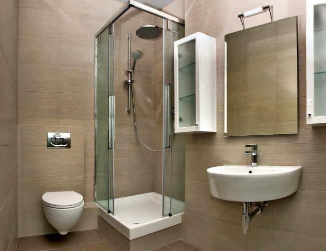 baos con ducha de obra modernos para cuartos de bao pequeos u decoracion u moderno