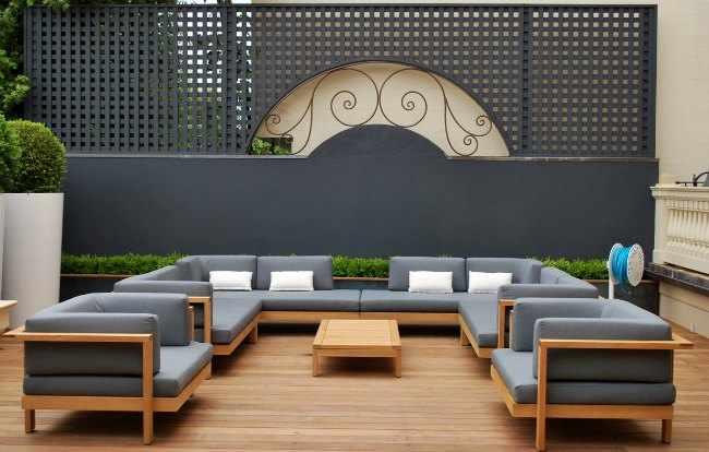 Ideas para decorar terrazas peque as for Sofas para terrazas pequenas