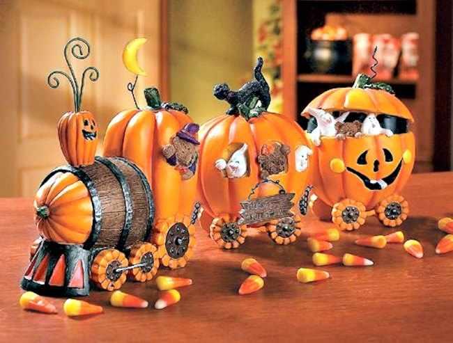 Ideas de decoracion para halloween - Decoracion calabazas halloween ...