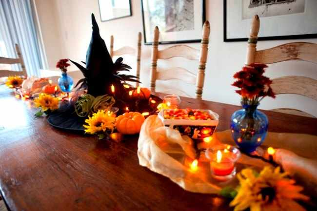 Ideas de decoracion para halloween for Decoracion mesa halloween