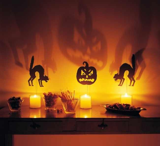 Ideas de decoracion para halloween for Decoracion halloween barata
