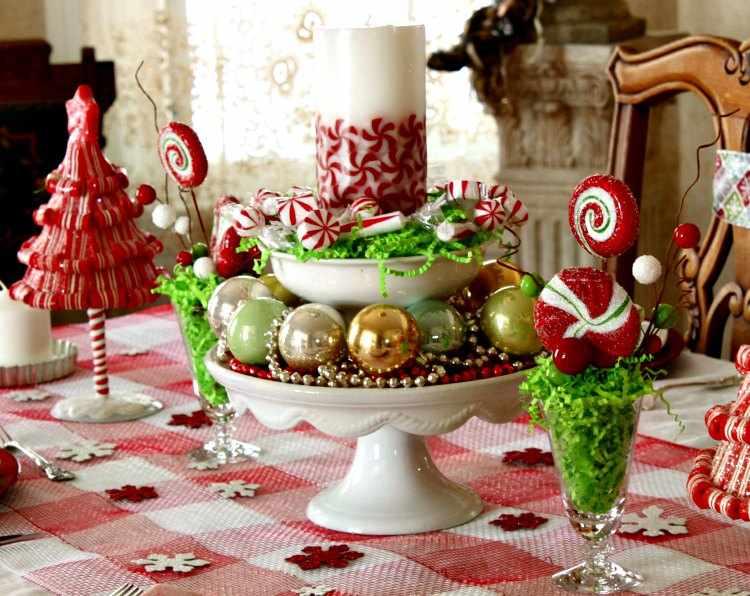 Centros de mesa para navidad - Centros navidad caseros ...